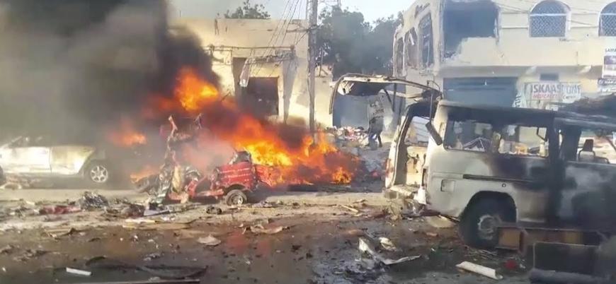 Suriye'nin başkenti Şam'da bombalı araç saldırısı