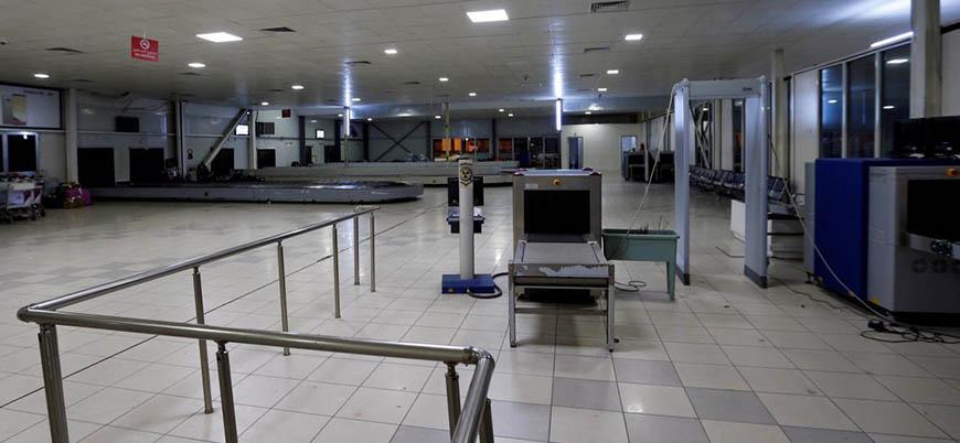 Libya'nın başkenti Trablus'taki Mitiga Havalimanı uçuşları durdurdu