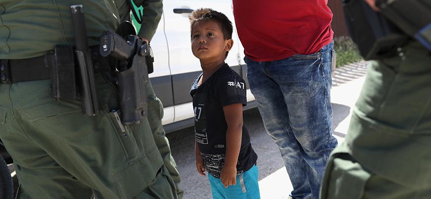 ABD'de binlerce göçmen çocuk gözaltına alındı