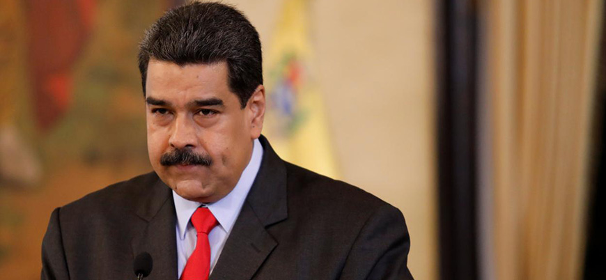 Maduro, mali destek için Çin'e gitti