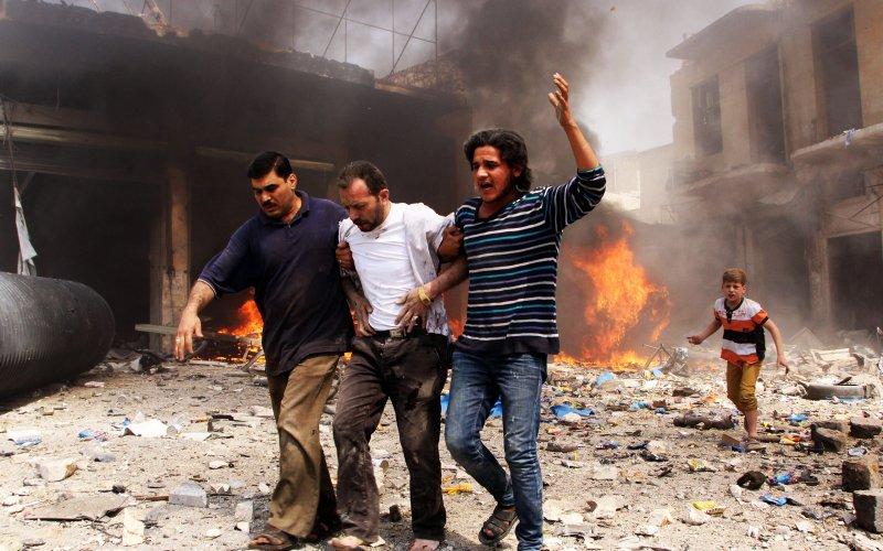Doğu Halep'ten 'Holocaust' görüntüleri +18