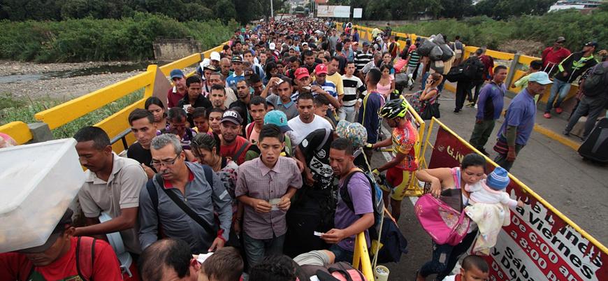 Kolombiya Venezuelalı göçmenler için çözüm arayışında