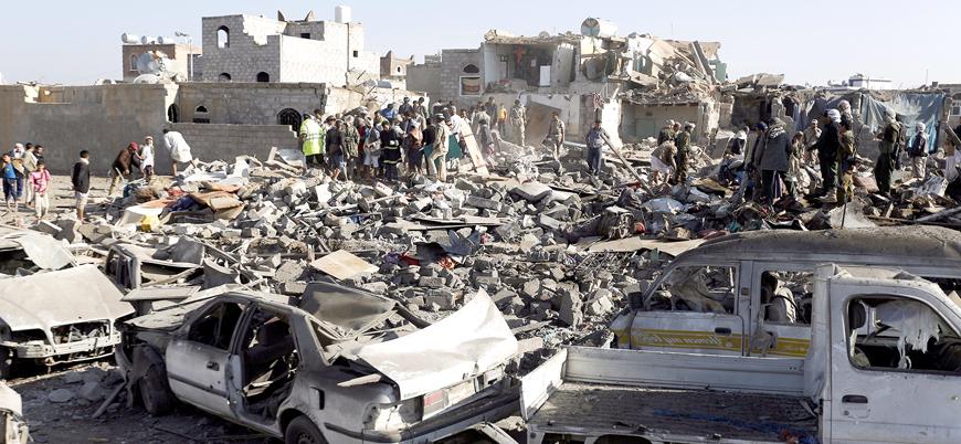 Yemen'de yüz binlerce sivil 'dehşet içinde'
