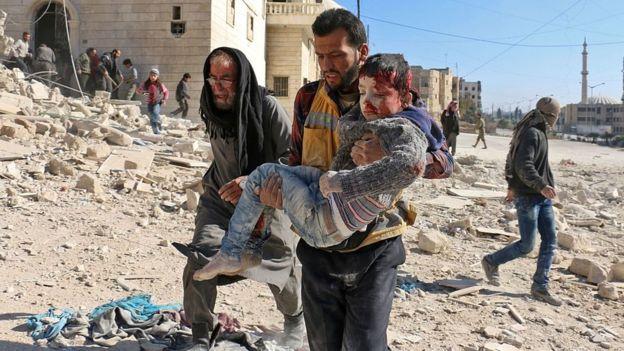 'Halep'te yaralılar ölüme terk edildi'