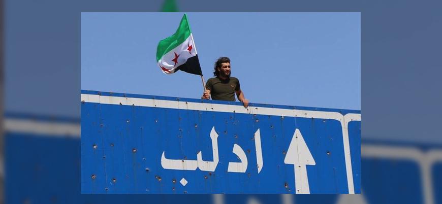 """İdlib'de geniş kapsamlı gösteriler: """"Esed'in gidişinden başka seçenek yok"""""""