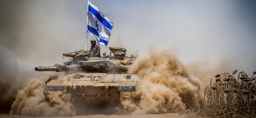 İsrail Gazze'ye tankla saldırdı