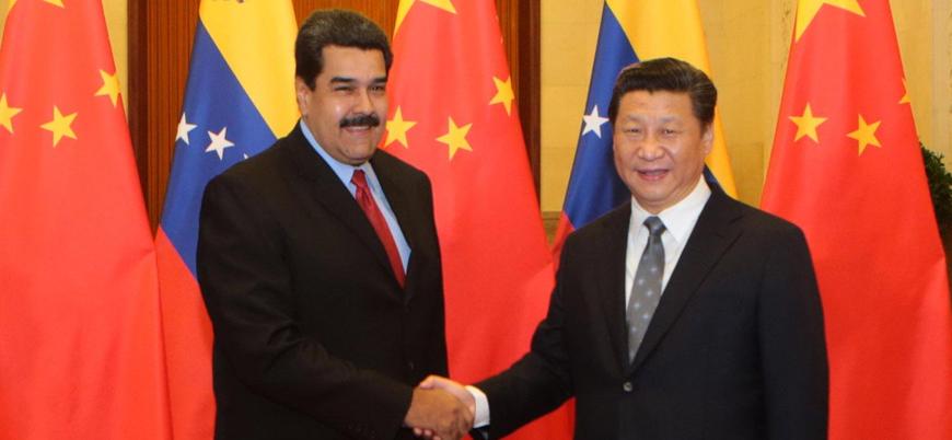Çin'den Venezuela'da Maduro'ya destek