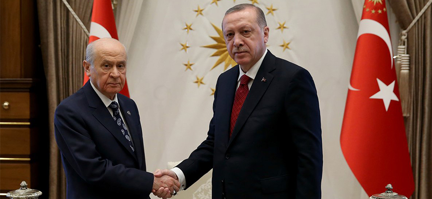 Erdoğan'dan MHP ile ittifak sinyali