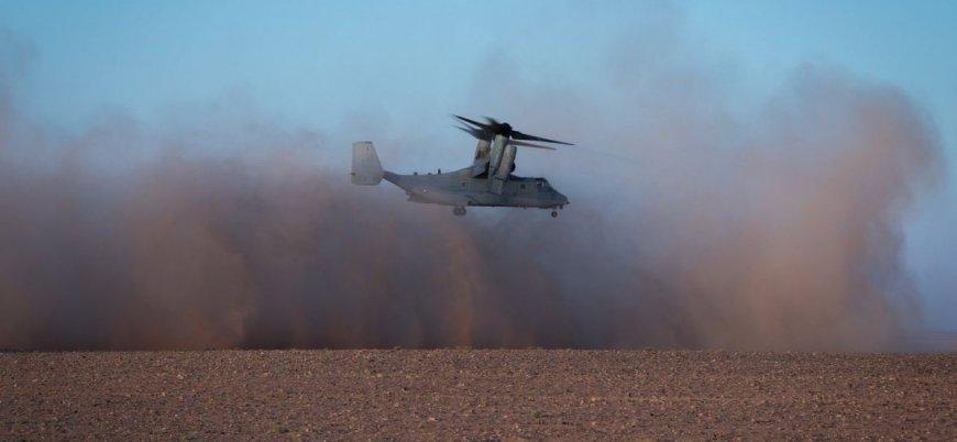 ABD'den Suriye'nin güneyinde geniş çaplı askeri tatbikat