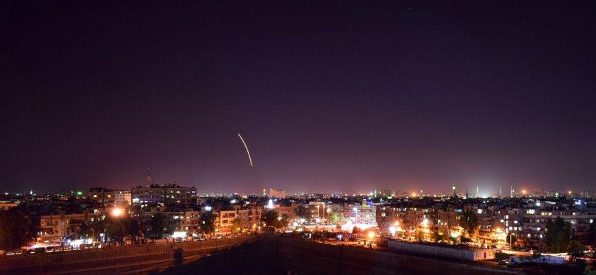 'İsrail'den Şam'a füze saldırısı'