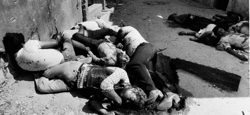 Üç binden fazla Filistinlinin vahşice öldürüldüğü Sabra ve Şatilla katliamının 36'ncı yılı