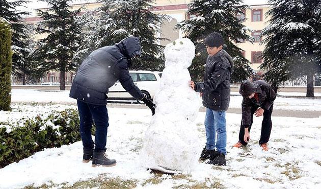 39 ilde eğitimde kar tatili