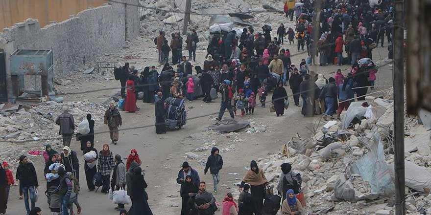 Halep'te ateşkesin yeniden sağlanmasının ardından tahliyeler başladı