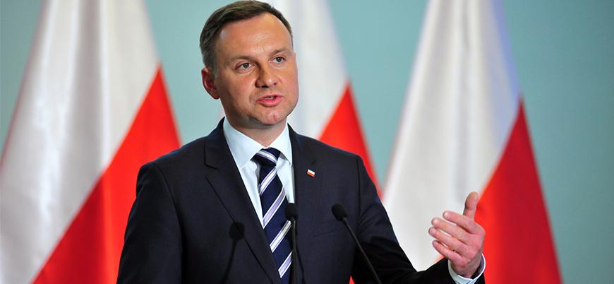 Polonya Cumhurbaşkanından Trump'a mesaj: Umarım durdurur