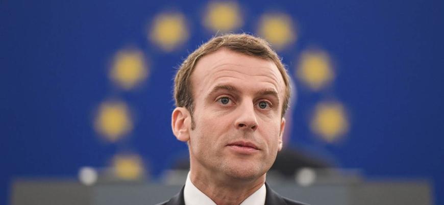 """Macron: """"Fransa İslamcılık belasıyla savaşta tetikte olmalı"""""""