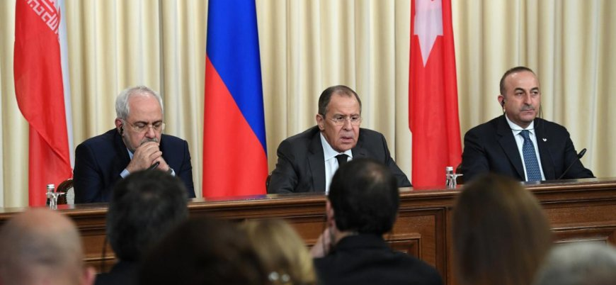 Rusya İran ve Türkiye'den News York'ta Suriye toplantısı