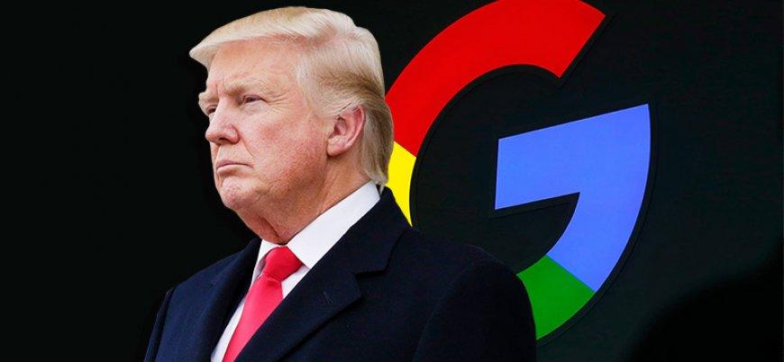 Trump Google ve Facebook'un peşinde