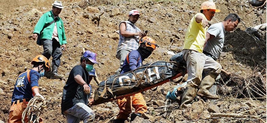 Filipinler'deki heyelanda ölü sayısı 98 oldu