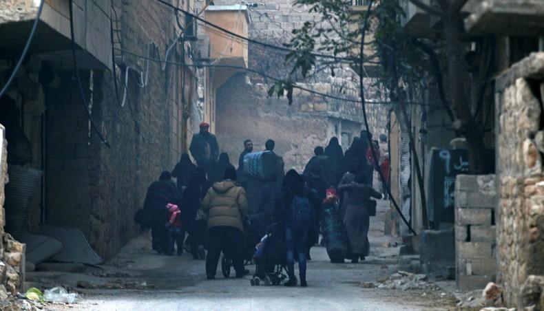 Halep'teki tahliyelere İran engeli