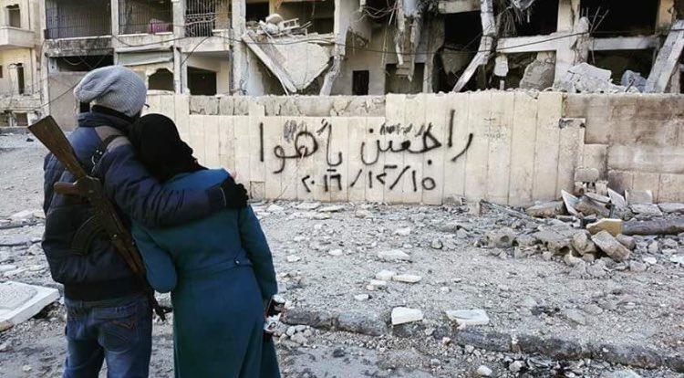 'Geri döneceğiz': Halepliler Esed güçlerine bu mesajları bıraktılar
