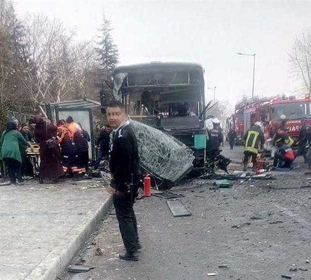 Kayseri'de bombalı saldırı: Yaralılar var