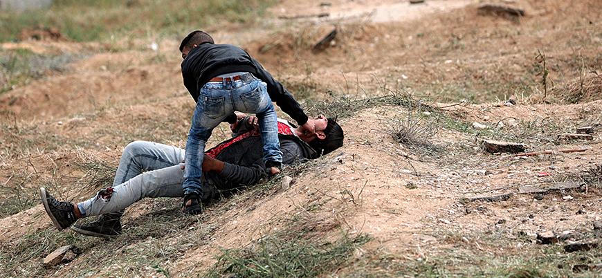 Gazze Şeridi'nde 1 Filistinli daha öldürüldü