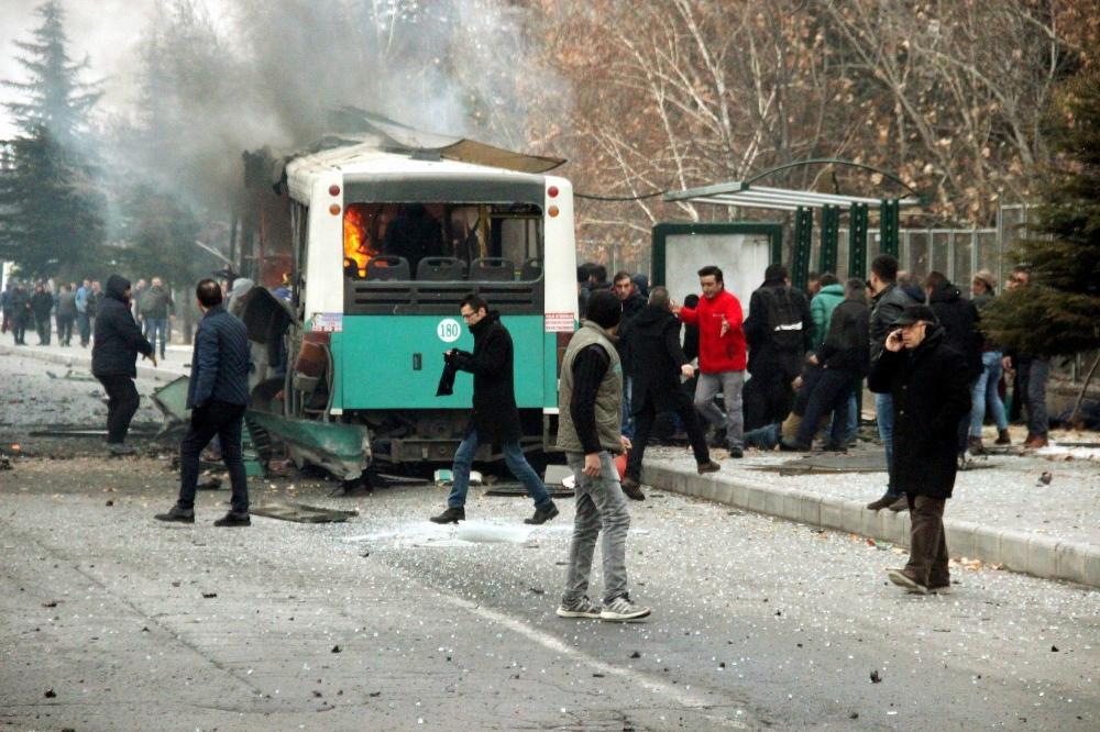 TSK: Kayseri'de 13 asker şehit oldu