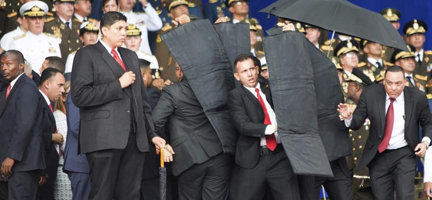 Venezuela Maduro'ya suikast girişiminde üç Latin Amerika ülkesini suçladı