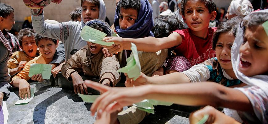 Yemen 'gıda yardımı' istiyor