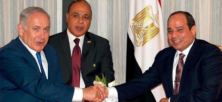 Netanyahu'dan Sisi'ye 'terörle mücadele' tebriği
