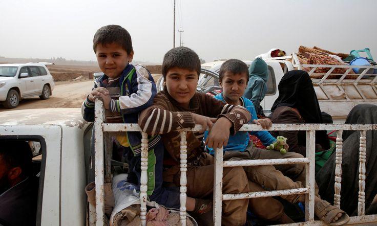118 bin kişi Musul'dan göç etti