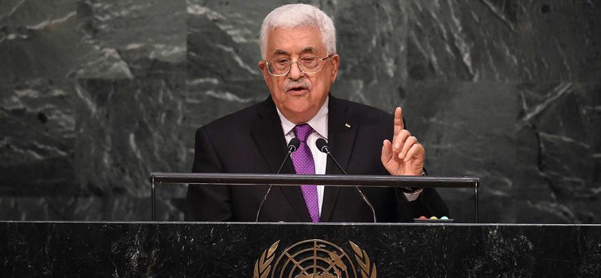 """""""Abbas BM kürsüsünü Gazze'den ayrılmanın ilanı olarak kullandı"""""""