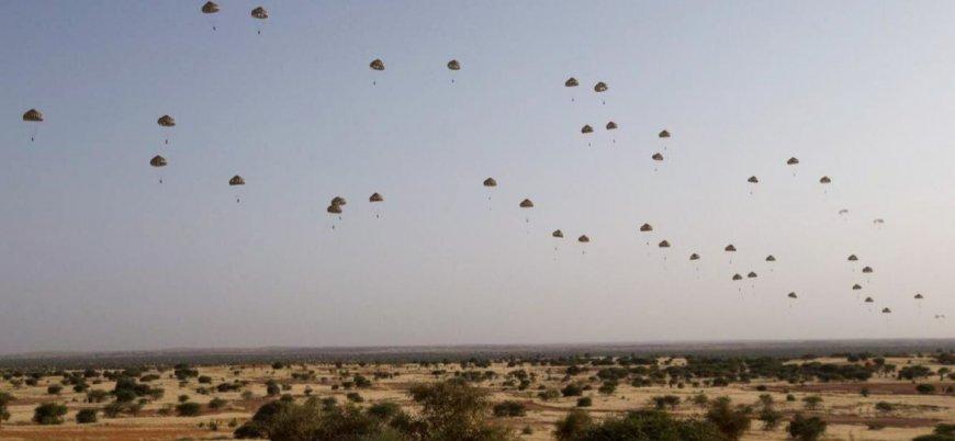 Fransa'dan Mali'de hava indirmesi