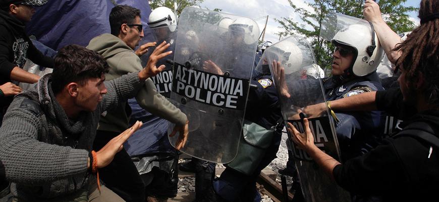 Belçika'da her 4 mülteciden biri polis şiddeti görüyor