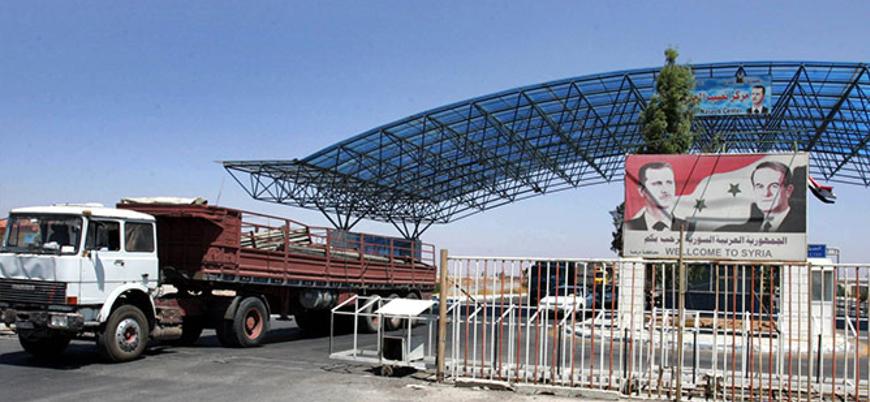 Ürdün Esed rejimi ile 'buzları eritiyor': Nasib Sınır Kapısı açıldı