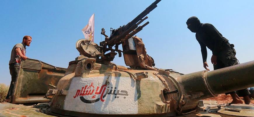 Ceyşul İslam İdlib'de 'Ulusal Ordu' çatısı altında yeniden organize oluyor
