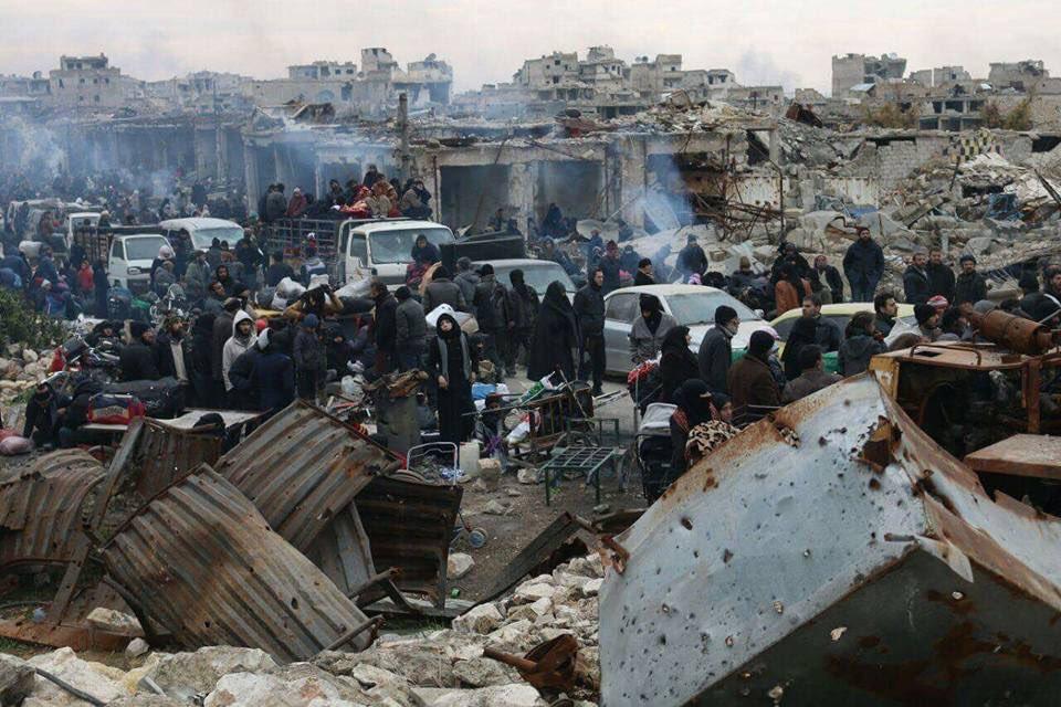 """""""Halep'te tahliyeler yeniden başlayacak"""""""