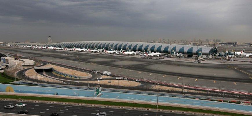 'Husilerden Dubai Uluslararası Havalimanı'na İHA saldırısı'