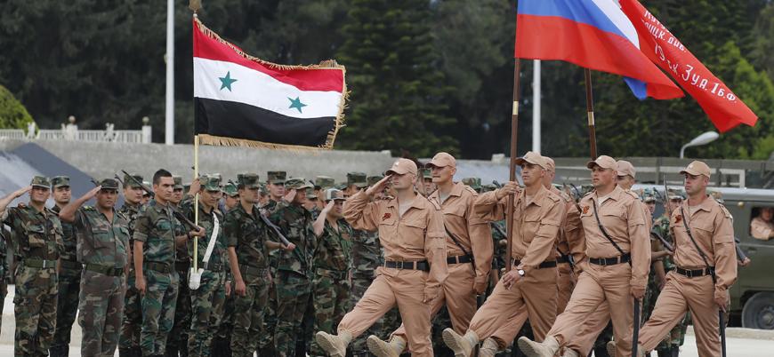 Rusya Suriye'deki askeri kayıplarını açıkladı