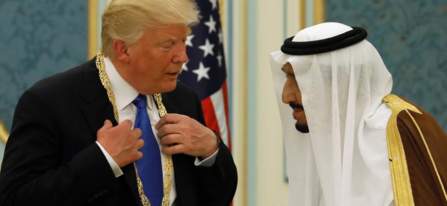 Trump: Biz olmazsak Suudi Arabistan'ın başına neler geleceğini sadece Tanrı bilir