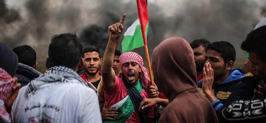 İsrail güçleri Gazze'deki göstericilere ateş açtı