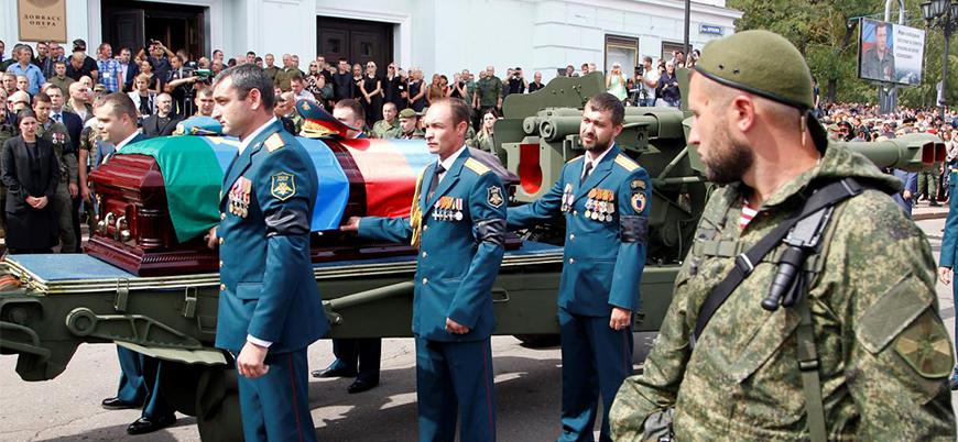 Rus yanlısı lidere suikastin görüntüleri yayınlandı