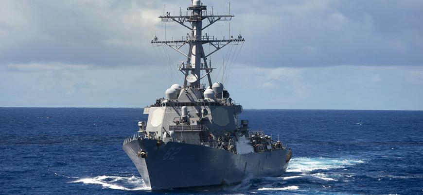 İki ülke arasındaki gerilim tırmanıyor: ABD savaş gemisi Çin sularında