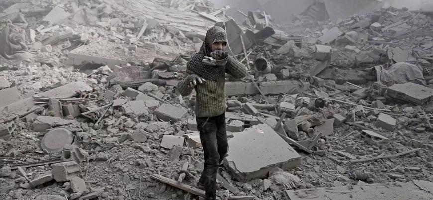 ABD Suriye'de sivilleri vurdu: En az 20 ölü