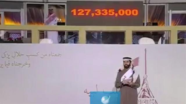 Katar'dan Halep'e dev destek: Beş saatte 63 milyon dolar toplandı