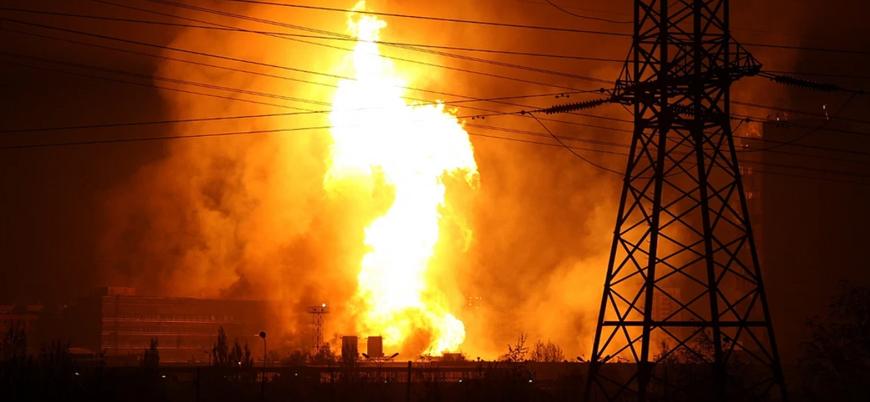 İran'da doğal gaz boru hattında patlama meydana geldi