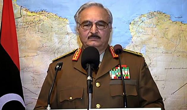 Libyalı Halife Hafter Cezayir'de