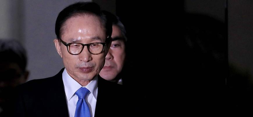 Eski Güney Kore devlet başkanına 15 yıl hapis cezası