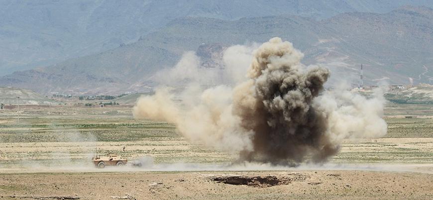 Afganistan'da ABD konvoyuna mayınlı saldırı