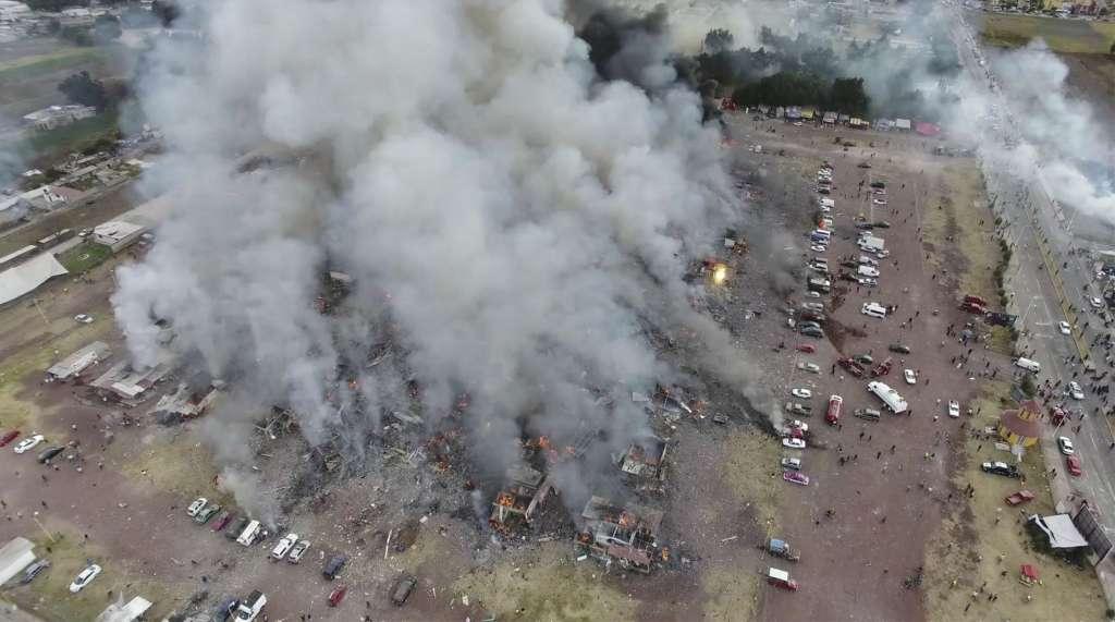 Meksika'da havai fişek faciası: En az 31 ölü